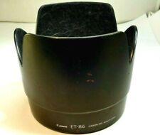 CANON ET-86 Pare-Soleil Shade Pour EOS Ef 70-200mm f2.8L Is USM Origine OEM Usé