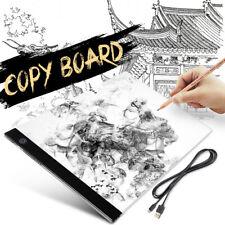 Elfeland Dimmer Thin A3 LED Tracing Light Box Drawing Board Pad Stencil Display