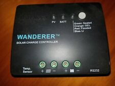 Renogy Wanderer Li 30A Common Negative PWM Charge Controller 12V Solar Regulator