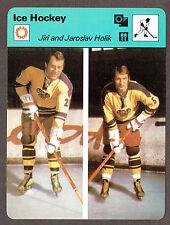 1979 Hockey 'Sportcaster', Czechoslavakia's Jiri and Jaroslav Holik...