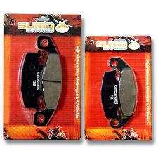 Kawasaki Front + Rear Brake Disc Pads EX 250 Ninja (1988-2007) EX 250 R (88-07)