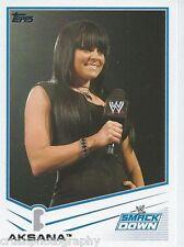 Aksana 2013 WWE Topps Triple Threat Trading Card #44 Smackdown Diva