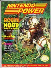 NINTENDO POWER MAGAZINE July 1991 Vol 26 GAMEBOY Robin Hood Bill & Ted Adventure