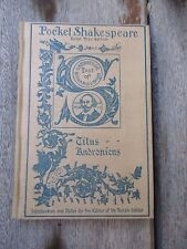 1901 Titus Andronicus Shakespeare Pocket Shakespeare Book Dana Estes & Co.