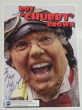 More details for large roy chubby brown hand signed autograph promo photo, comedy
