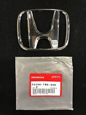 New Genuine OEM 2012-16 Honda Civic Front Emblem 75700-TR0-000 USA SELLER