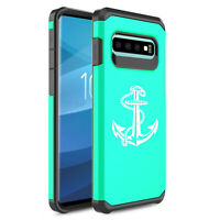 For Samsung Galaxy Shockproof Protective Hard Case Cover Anchor With Rope