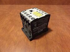 Klockner Moeller contactor relay 24V DC DIL EM-10-G 4KW