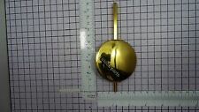 BRASS PENDULUM LENS WITH ATTACHEMENT TO ROD FOR FRIESIAN FRIESE LONG TAIL CLOCK