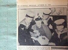d8-1 ephemera 1965 picture d e bennett r n liskeard torpoint m page webster