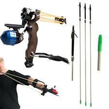 Hunting Bow Fishing Slingshot Catapult Wrist Brace Shooting Archery Fish Arrow