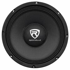 "Rockville Rm84Pro 8"" 4 Ohm Spl Competition Midrange Car Speaker, 108dB, 3. New"