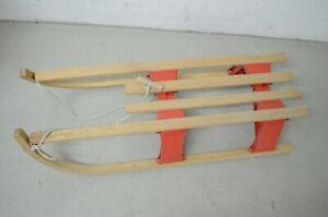Holz Schlitten Davos 110 cm faltbar Rodel