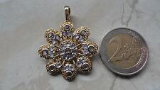 Tansanit Amulett des Glücks  Vario  Anhänger Gold 585 Neu