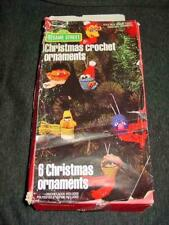 Vogart Crafts 1979 : Sesame Street - Christmas Crochet Ornaments Craft Kit