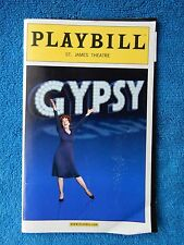 Gypsy - St. James Theatre Playbill w/Ticket - March 18th, 2008 - Patti LuPone