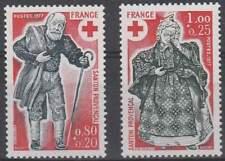 Frankrijk postfris 1977 MNH 2054-2055 - Rode Kruis / Red Cross