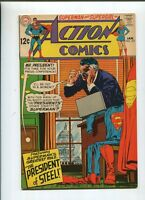 Action Comics # 371 Very Fine/Near Mint 1969  The President Of Steel   *SA