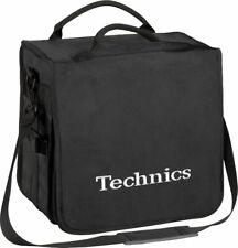 Technics BackBag Black Logo Silver - Borsa Zaino da DJ per 45 Dischi in Vinile