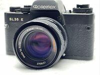 ROLLEIFLEX SL35E + PLANAR 1,8/50 Rollei-HFT #1276042 SLR