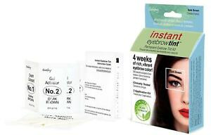 Instant Eyebrow Tint – Natural plant based dyes – 3 application kit