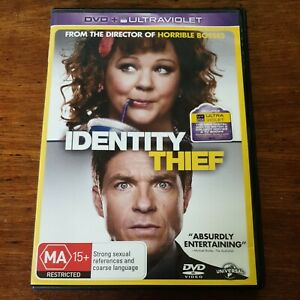 Identity Thief DVD R4 VERY GOOD - FREE POST