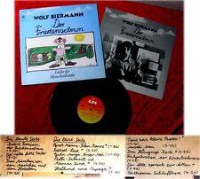 LP Wolf BIRRA Uomo della Pace Clown canzoni per menschenk
