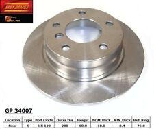 Disc Brake Rotor-E36 Rear Best Brake GP34007