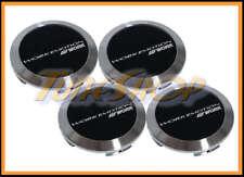 WORK WHEELS CENTER CAPS BLACK FLAT EMOTION CR ULTIMATE XC8 XT7 XD9 11R 11R RIMS