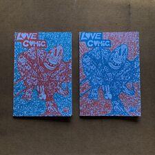 LOVE COMIC #1 Signed Second Print 250 copies Mcfarlane Spider-man 1 Rare Homage