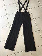 Pantalon salopette COMPTOIR DES COTONNIERS taille 34 noir bon état