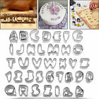 37 Pieces Cake Decorating Icing Set Alphabet Number Letter Cutter Mould Fondant