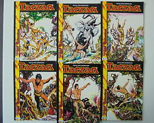 6x TARZAN-N. 1 - 6. sammelausgabe. hethke Top Comic Collection/SC