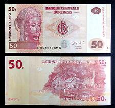 CONGO. Billete 50 Francos (2013) S/C - 50 Francs UNC Banknote P97