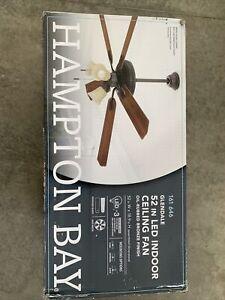 Hampton Bay Glendale 52 in. LED Indoor Oil-Rubbed Bronze Ceiling Fan New