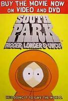 SOUTH PARK FILMPOSTER BIGGER LONGER & UNCUT KENNY