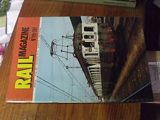 8µ? Revue Rail Magazine n°119 Anatole Mallet Heilmann Z4100 TCR Nord Pas de Cal.