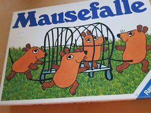 Mausefalle Ravensburger 5-10 Alter 2-6 Spieler Rarität Ravensburger