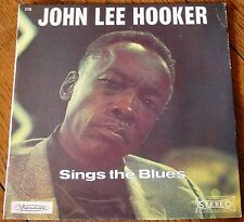 JOHN LEE HOOKER EP SINGS THE BLUES / VISADISC FRANCE