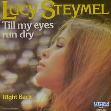 "7"" LUCY STEYMEL Till My Eyes Run Dry / Right Back UTOPIA Dutch-Pop orig. 1979"