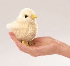 MINI CHICK FINGER PUPPET # 2721 ~ FREE SHIP/ USA ~ Folkmanis Puppets