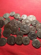 Lott of 30 clean Roman coins in fine condision