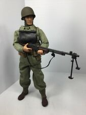 1/6 21ST CENTURY US 2ND RANGER BTN BAR GUNNER  FULLY LOADED! WW2 DRAGON BBI DID
