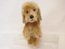 MES-58933Steiff Hund,H. ca. 25 cm,weichgestopft,mit Knopf und Fahne