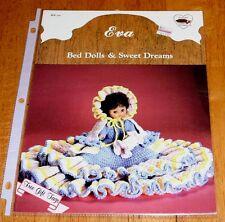 Dumplin Designs Eva Bed Dolls & Sweet Dreams Crochet Bk Bd540 Guc