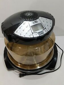 NuWave Elite Infrared Oven Black / Yellow Multiple Auto Programs 120VAC