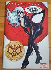 official convention preview book 2002 black cat cover , kevin smith