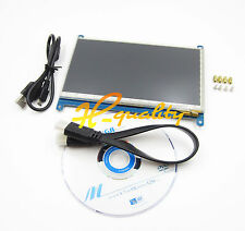 Raspberry Pis 7inch 1024×600 HDMI LCD(C) Rev2.1 Capacitive Touch Screen IPS