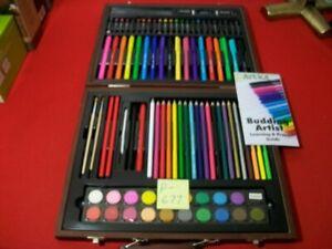 96 PCS. ART 101 BUDDING ARTIST KIT PERMAMAKERS, PENCILS, CRAYONS, PAINTS & MORE