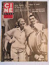 CINE REVUE 28 DU 10/07/1953 FERNANDEL MICHELE MORGAN